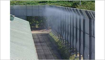Mist Spray for Cooling or Deodorization